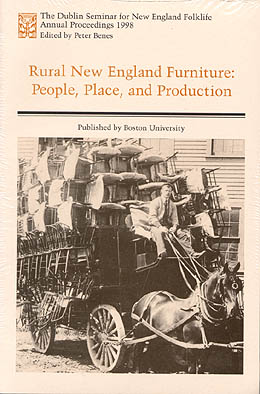 Rural New England Furniture: People, Place, and Production