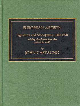 European Artists: Signatures and Monograms, 1800-1990