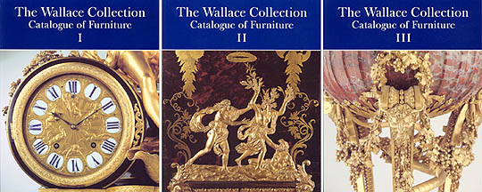 Wallace Collection Catalogue of Furniture by Peter Hughes