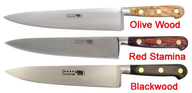 sabatier elephant logo carbon steel kitchen knives