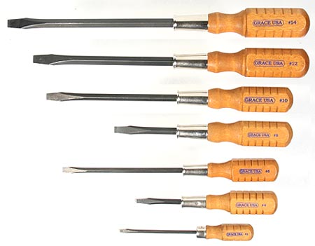 grace cabinetmaker's screwdrivers at the best things